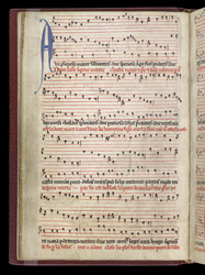 Hymn 'Ave gloriosa mater', in a Miscellany